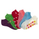 Austin Clothing Co.® Girls' No-Show Fashion Socks 6-Pack