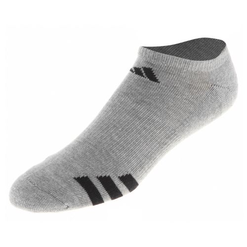 Image for adidas Men's Cushioned 3-Stripe No Show Socks 3-Pack from Academy