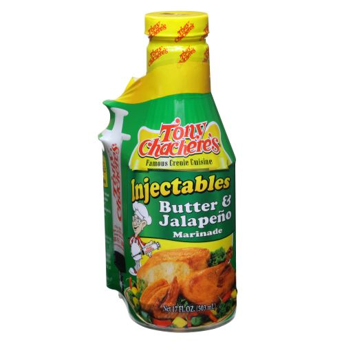 Tony Chachere's 17 oz. Butter and Jalapeno Injectable