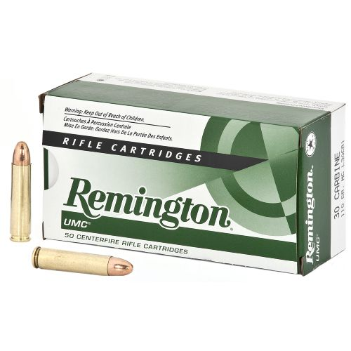 Remington UMC® 30 Carbine 110-Grain Centerfire Rifle Ammunition