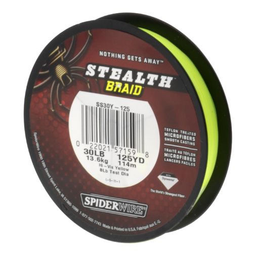 Image for Spiderwire® Stealth™ 30 lb. - 125 yds. Braided Fishing Line from Academy