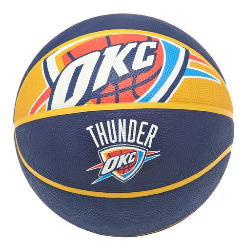 Spalding NBA Team Logo Courtside Size 7 Outdoor Basketball