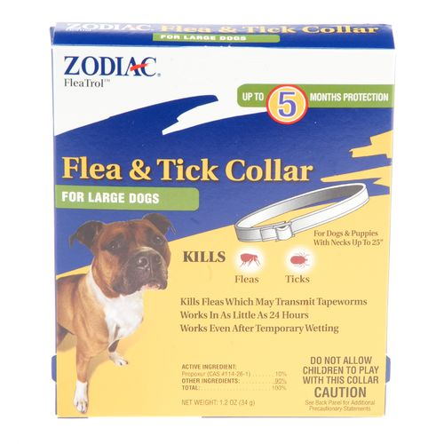 Image for Zodiac FleaTrol™ Flea and Tick Collar for Large Dogs from Academy