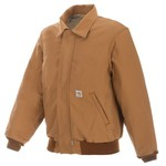 Carhartt Men's Flame Resistant Duck Bomber Jacket