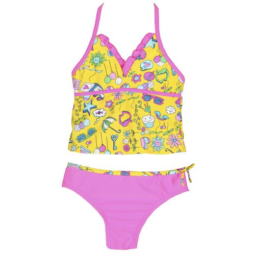 O'Rageous® Girls' Candy Land Trikini