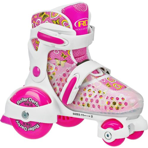 Image for Roller Derby Girls' Cruiser MX Quad Skates from Academy