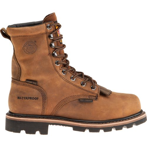 Display product reviews for Justin Men's Wyoming Waterproof Work Boots