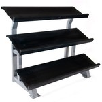 "CAP Barbell 52"" 3-Tier Stadium Dumbbell Rack"