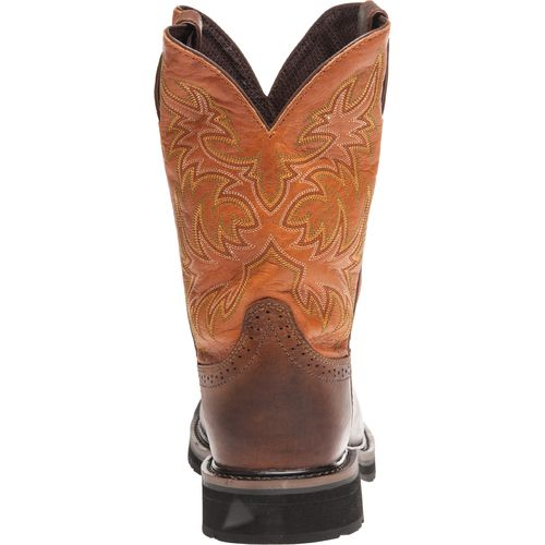 Justin Men's Rugged Composition Toe Western Work Boots - view number 4