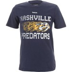 Reebok Boys' Nashville Predators Blurred Vision T-shirt