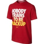 Nike Boys' Nobody Trains TD T-shirt