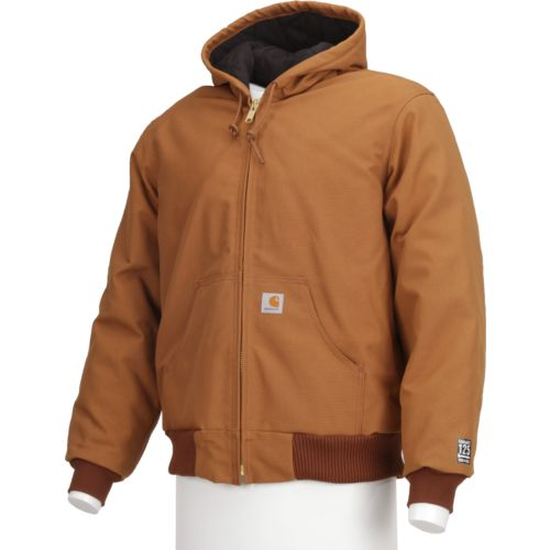 Image for Carhartt Men's Duck Active Quilted Flannel Lined Jacket from Academy