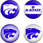 WinCraft Kansas State University Buttons 4-Pack