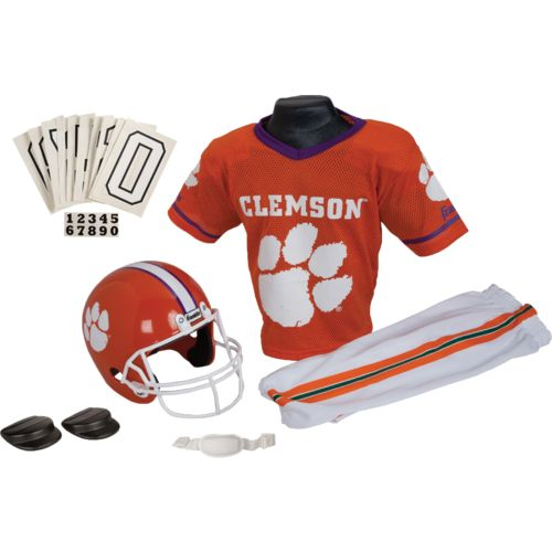 Display product reviews for Franklin Kids' Clemson University Football Deluxe Uniform Set