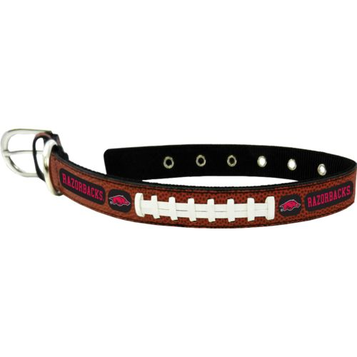 GameWear University of Arkansas Classic Leather Football Collar