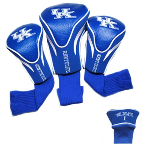 Team Golf University of Kentucky Contour Sock Head Covers 3-Pack