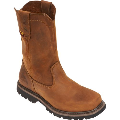 Cat Footwear Men's Square Toe Wellington Work Boots - view number 2