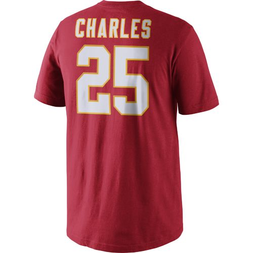 Nike Men's Kansas City Chiefs Jamaal Charles #25 Player Pride T-shirt