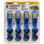 CargoLoc Cambuckle 6' Tie Downs 4-Pack - view number 1
