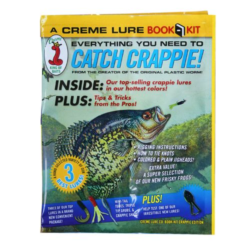 Creme 45-Piece Crappie Jig Book Kit