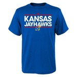 adidas Kids' University of Kansas Short Sleeve T-shirt