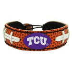GameWear Texas Christian University Classic Football Bracelet