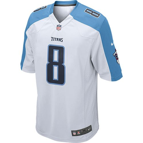 Nike Adult Tennessee Titans Marcus Mariota #8 White Jersey - view number 2