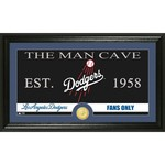 The Highland Mint Los Angeles Dodgers Man Cave Bronze Coin Photo Mint