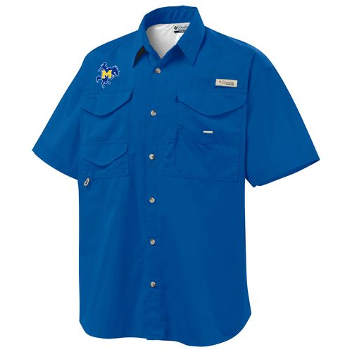 Columbia Sportswear Men's McNeese State University Bonehead™ Short Sleeve Shirt