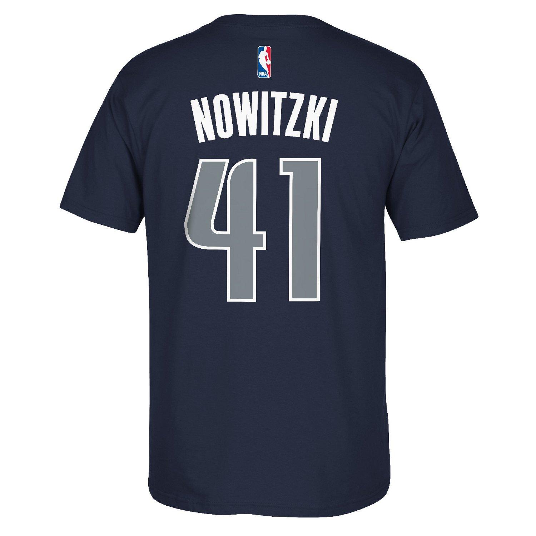 adidas Men's Dallas Mavericks Dirk Nowitzki #41 7