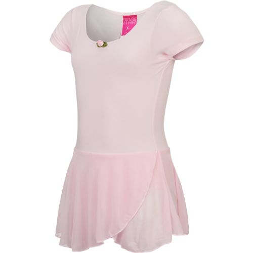 Capezio Girls' Future Star Short Sleeve Skirtall