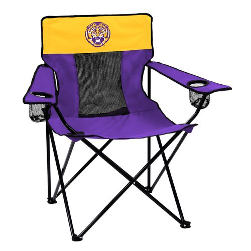 Logo™ Louisiana State University Folding Deluxe Chair