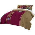 The Northwest Company San Francisco 49ers Full-Size Comforter and Sham Set