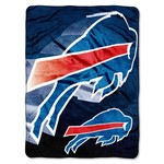 The Northwest Company Buffalo Bills Bevel Micro Raschel Throw
