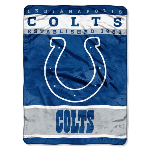 The Northwest Company Indianapolis Colts 12th Man Raschel Throw