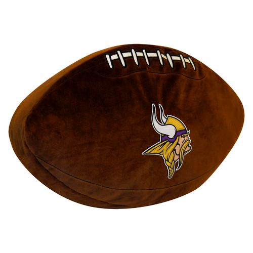 The Northwest Company Minnesota Vikings Football Shaped Plush Pillow