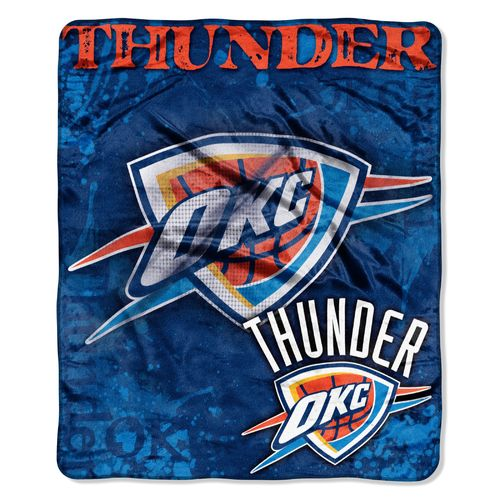 The Northwest Company Oklahoma City Thunder Dropdown Raschel Throw - view number 1