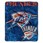 The Northwest Company Oklahoma City Thunder Dropdown Raschel Throw