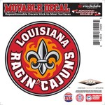 "Stockdale University of Louisiana at Lafayette 6"" x 6"" Decal"