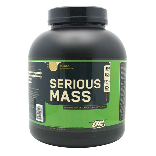 Display product reviews for Optimum Nutrition Serious Mass Supplement
