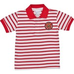 Two Feet Ahead Toddlers' University of Louisiana at Lafayette Stripe Golf Polo Shirt