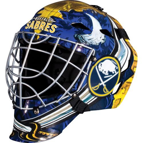Franklin Boys' Buffalo Sabres GFM 1500 Goalie Face Mask