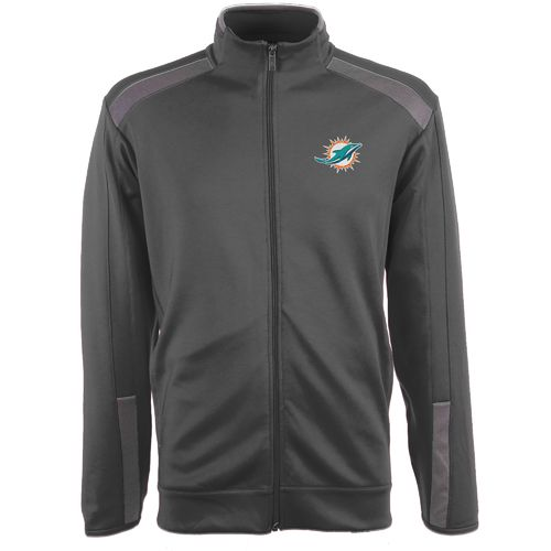 Antigua Men's Miami Dolphins Flight Jacket