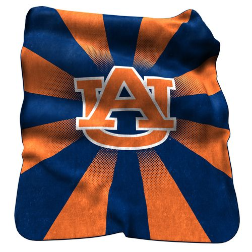 Logo Auburn University Raschel Throw