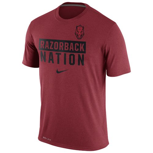 Nike™ Men's University of Arkansas Legend Local Verb T-shirt