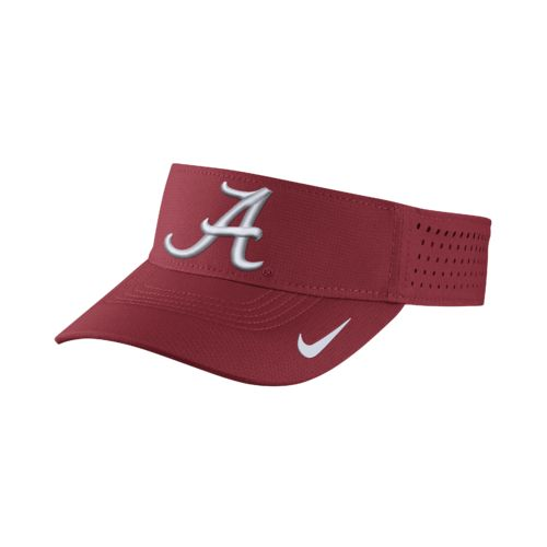 Nike™ Men's University of Alabama Vapor Adjustable Visor - view number 1