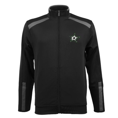 Antigua Men's Dallas Stars Flight Full Zip Jacket