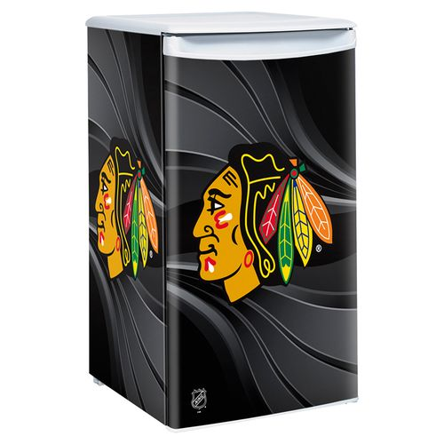 Boelter Brands Chicago Blackhawks 3.2 cu. ft. Countertop Height Refrigerator