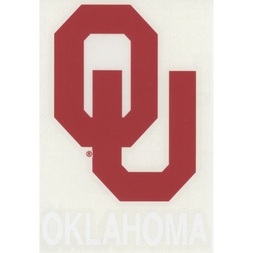 "Stockdale University of Oklahoma 4"" x 7"" Decals 2-Pack"