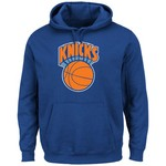 Majestic Men's New York Knicks Hardwood Classics Tek Patch™ Hoodie